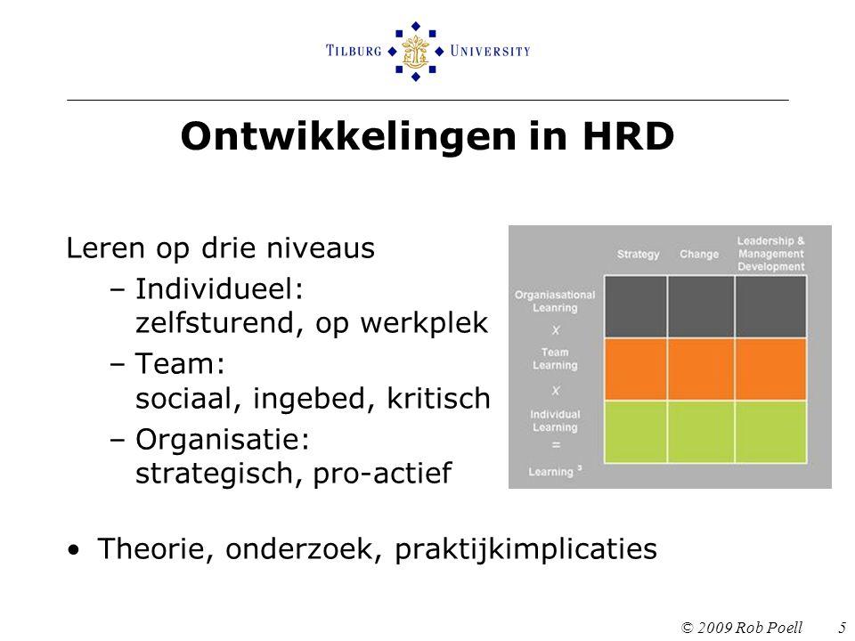 Ontwikkelingen in HRD Leren op drie niveaus