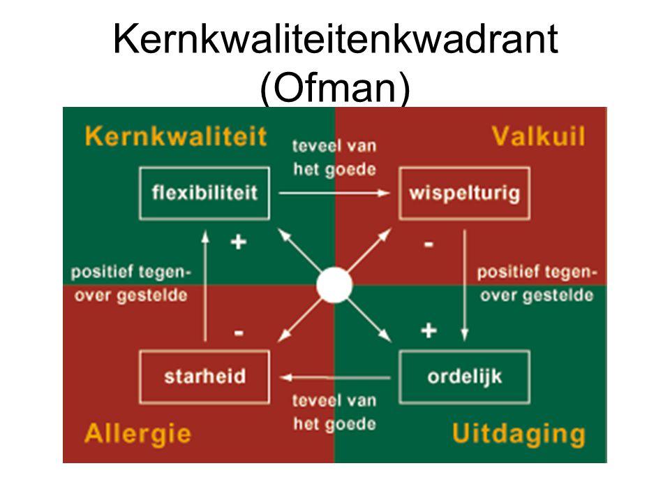 Kernkwaliteitenkwadrant (Ofman)