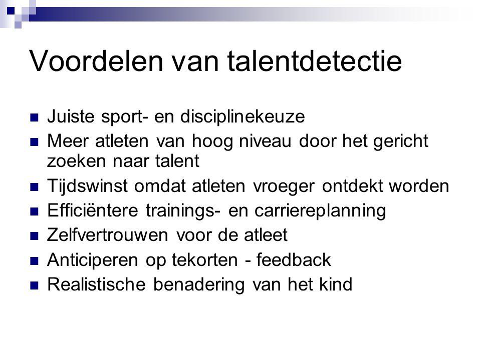 Voordelen van talentdetectie