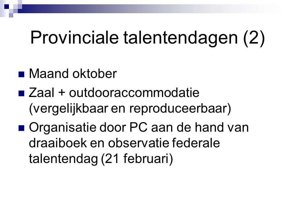 Provinciale talentendagen (2)