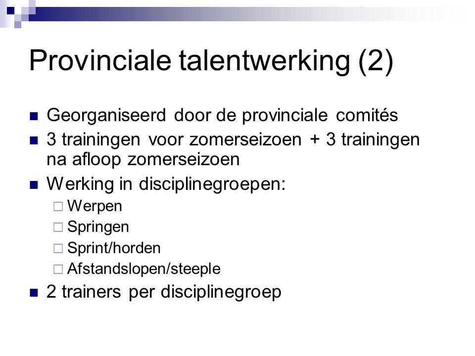 Provinciale talentwerking (2)