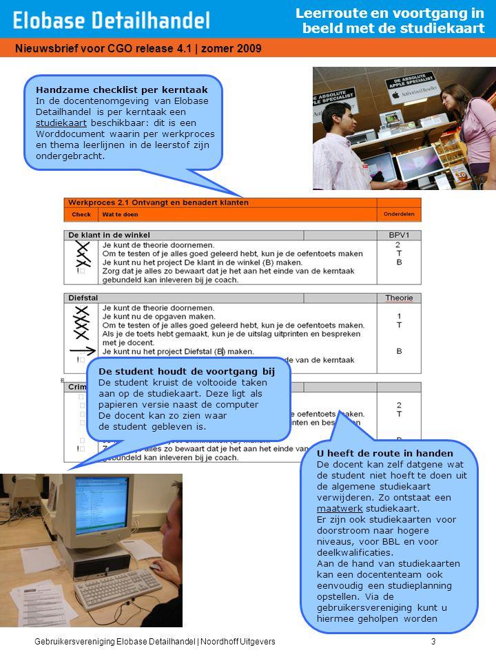 Leerroute en voortgang in beeld met de studiekaart