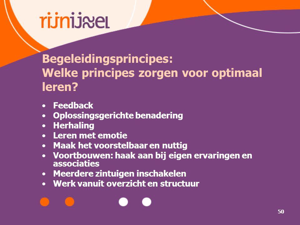 Begeleidingsprincipes: Welke principes zorgen voor optimaal leren