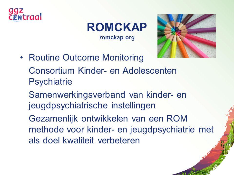 ROMCKAP romckap.org Routine Outcome Monitoring