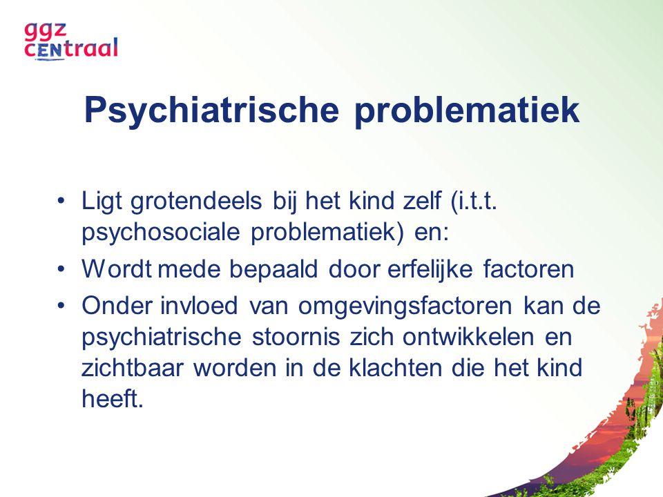 Psychiatrische problematiek