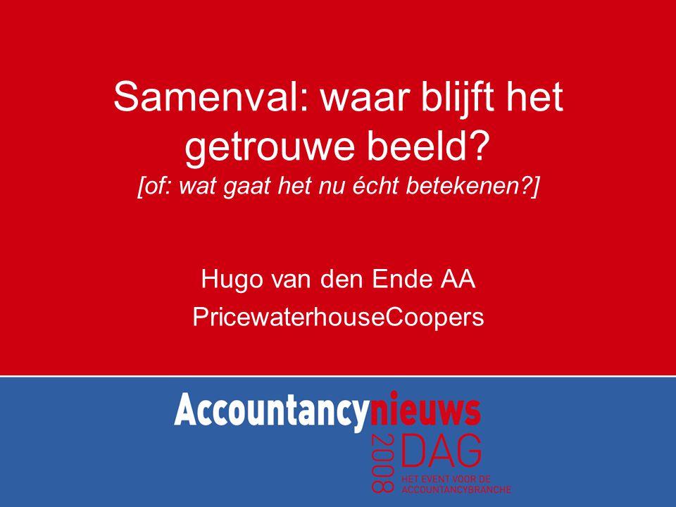Hugo van den Ende AA PricewaterhouseCoopers