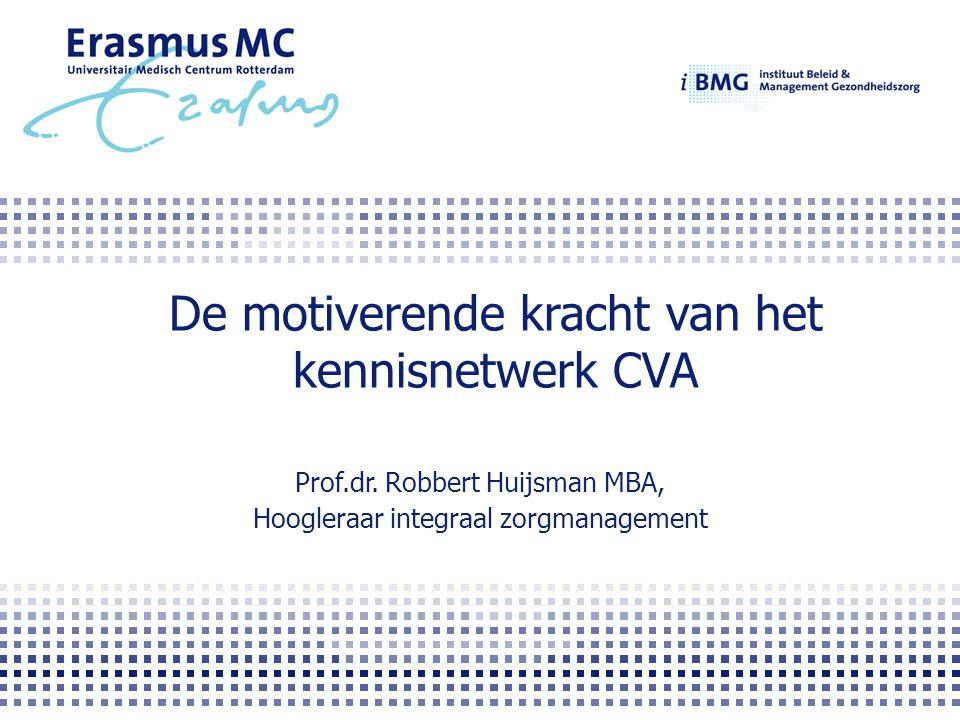 De motiverende kracht van het kennisnetwerk CVA