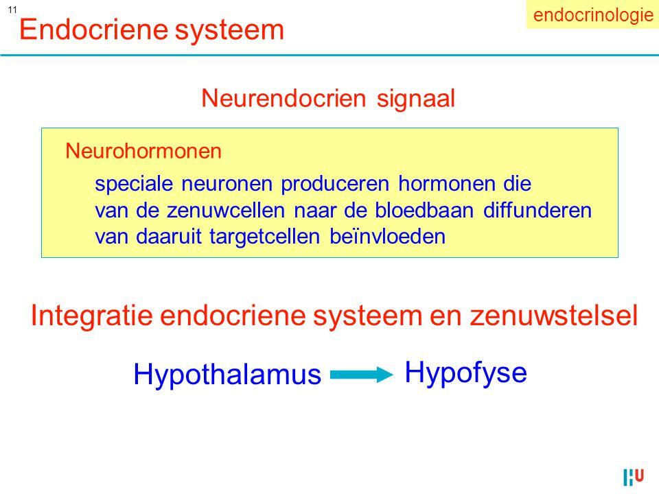 Integratie endocriene systeem en zenuwstelsel