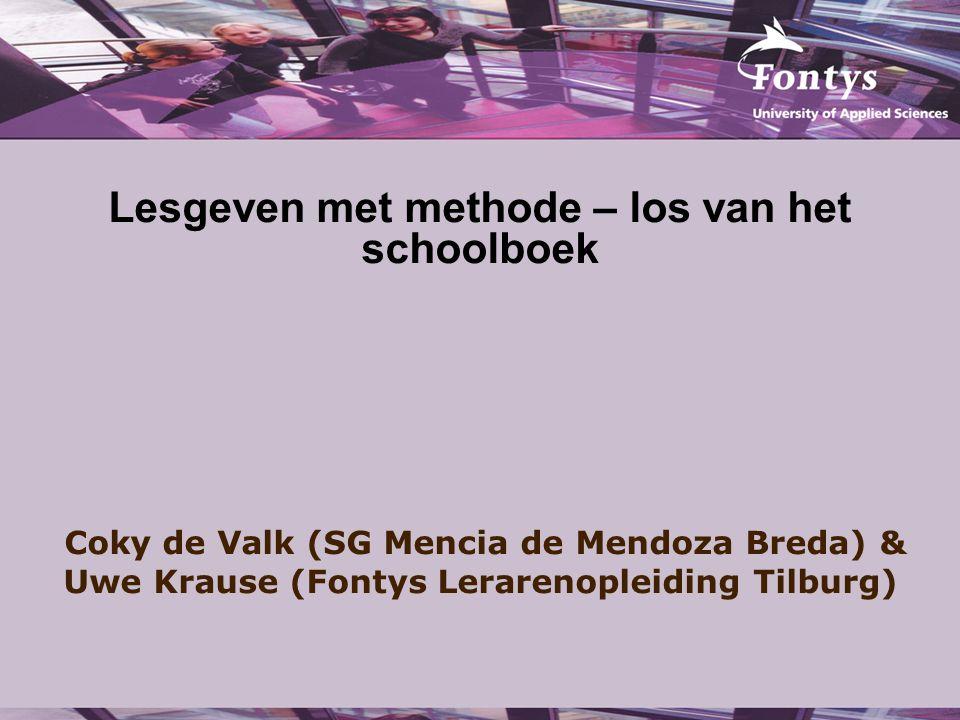 Lesgeven met methode – los van het schoolboek