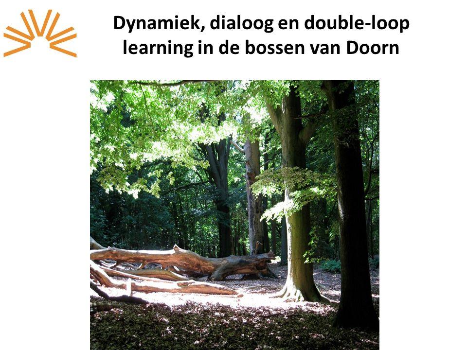 Dynamiek, dialoog en double-loop learning in de bossen van Doorn