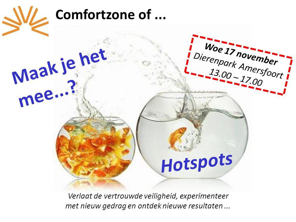 Woe 17 november Dierenpark Amersfoort 13.00 – 17.00