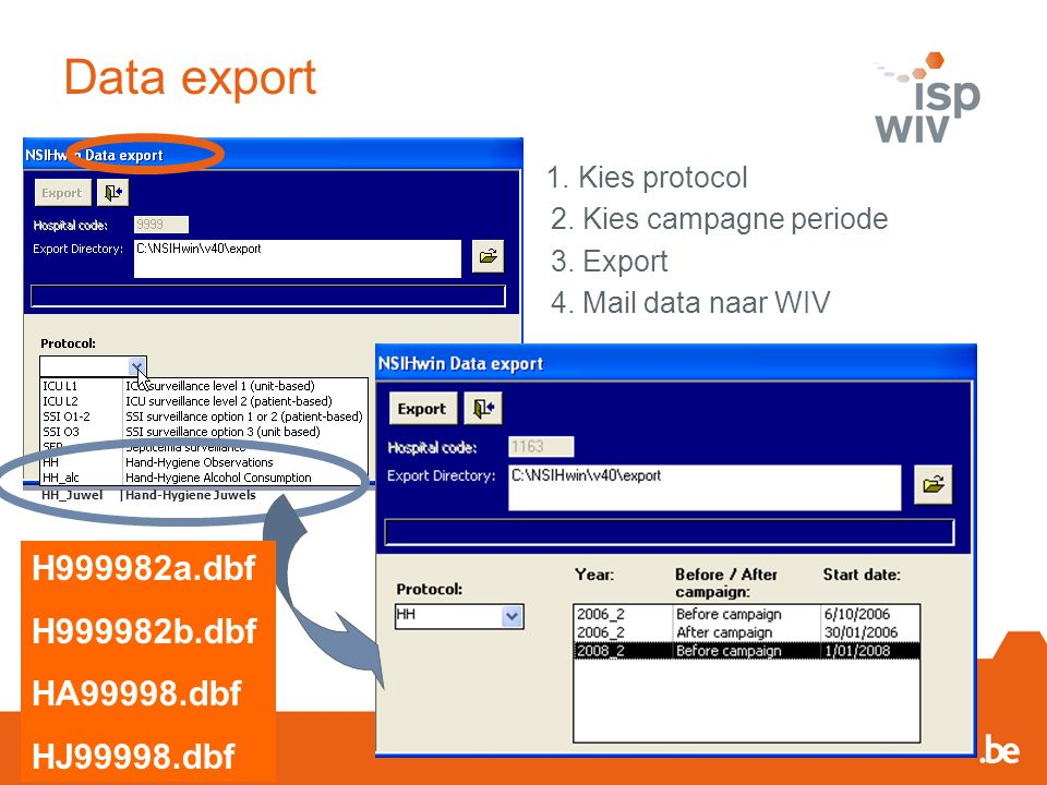 Data export H999982a.dbf H999982b.dbf HA99998.dbf HJ99998.dbf