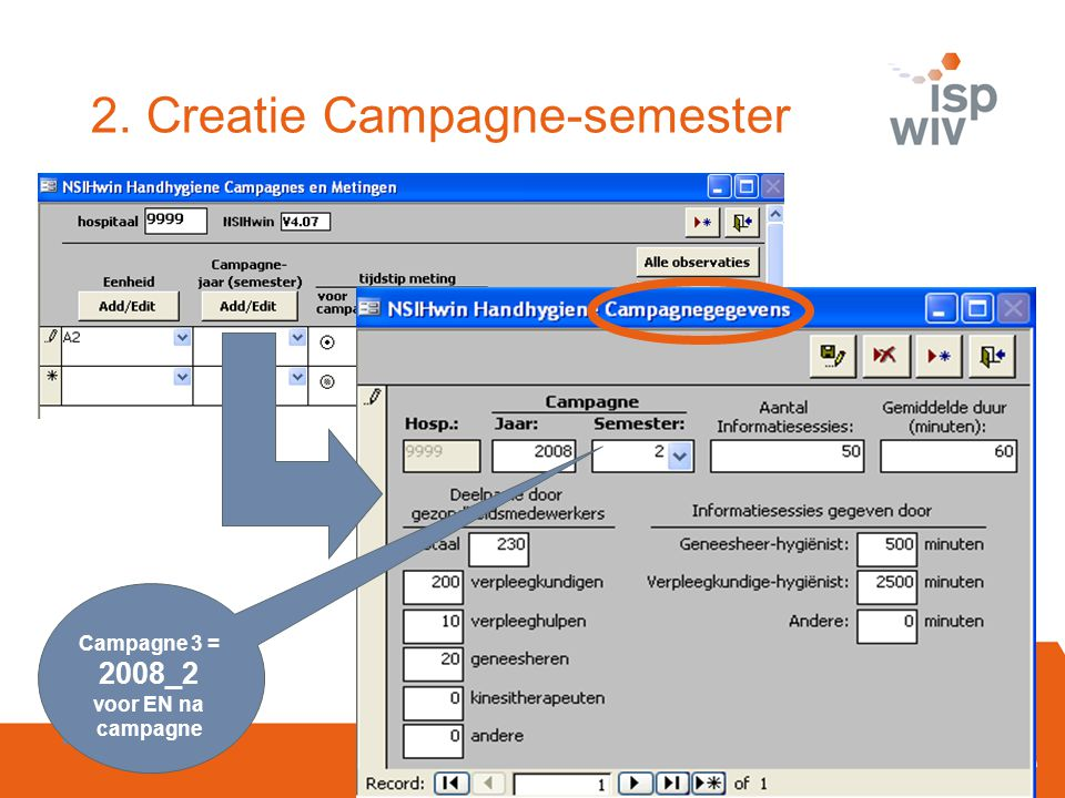 2. Creatie Campagne-semester