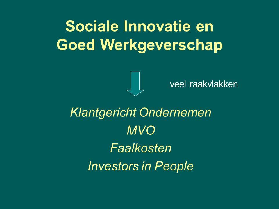 Sociale Innovatie en Goed Werkgeverschap veel raakvlakken