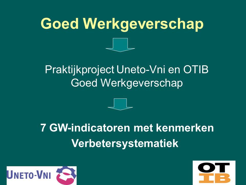Praktijkproject Uneto-Vni en OTIB Goed Werkgeverschap
