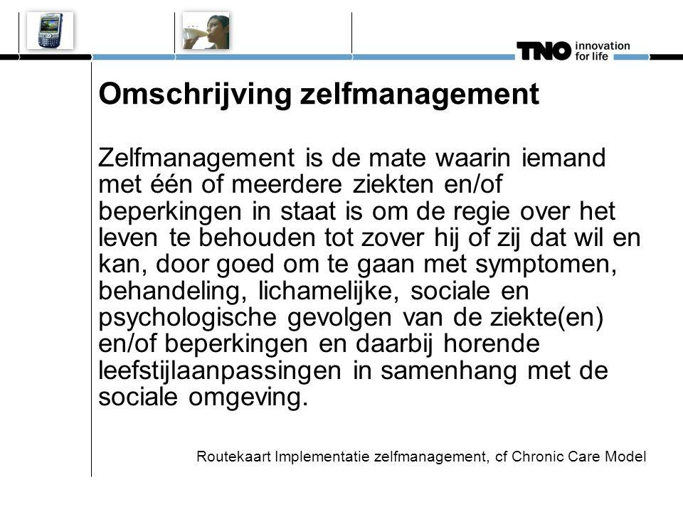 Zelfmanagement John (58) Diabetes Type II Self-Management Activities