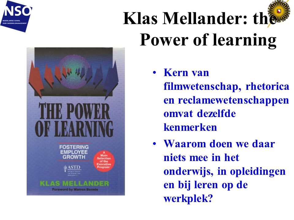Klas Mellander: the Power of learning