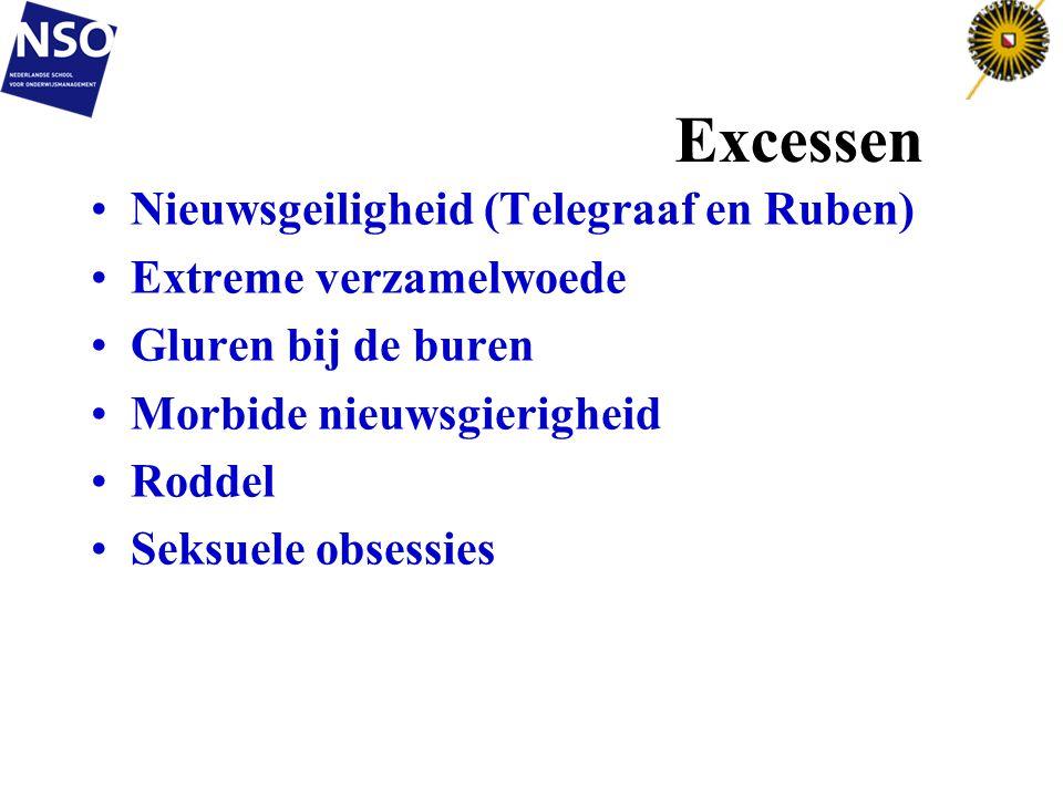 Excessen Nieuwsgeiligheid (Telegraaf en Ruben) Extreme verzamelwoede