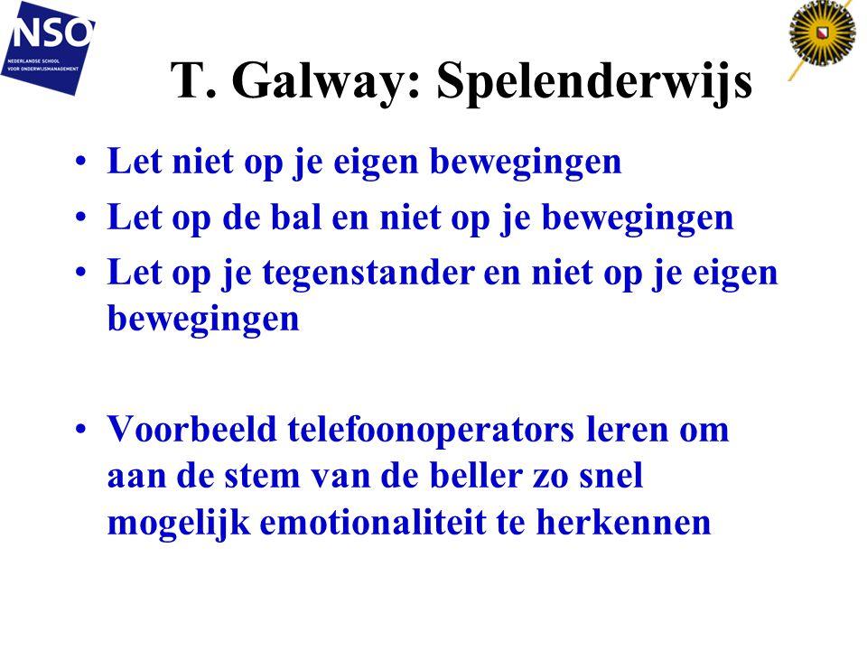 T. Galway: Spelenderwijs