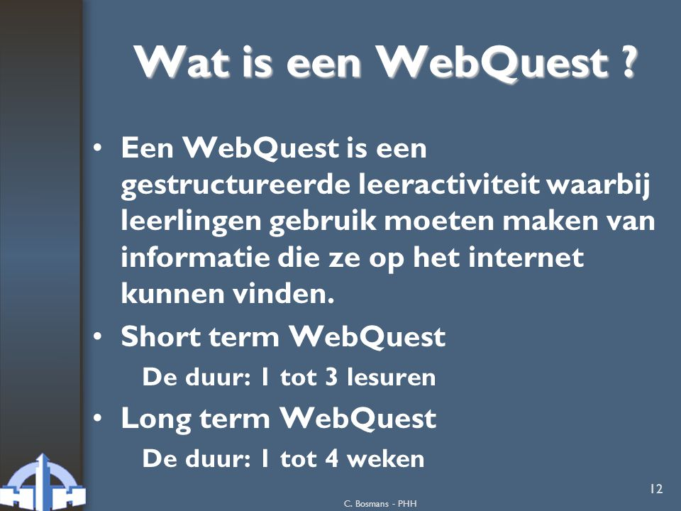 Wat is een WebQuest