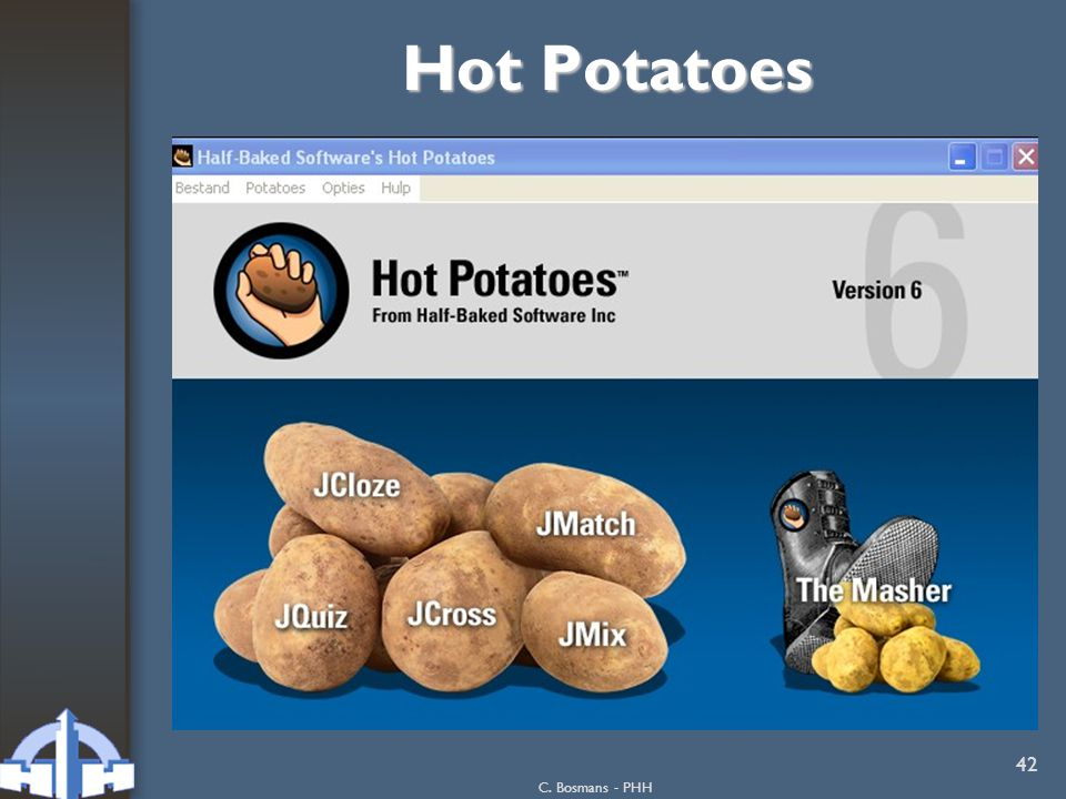 Hot Potatoes C. Bosmans - PHH