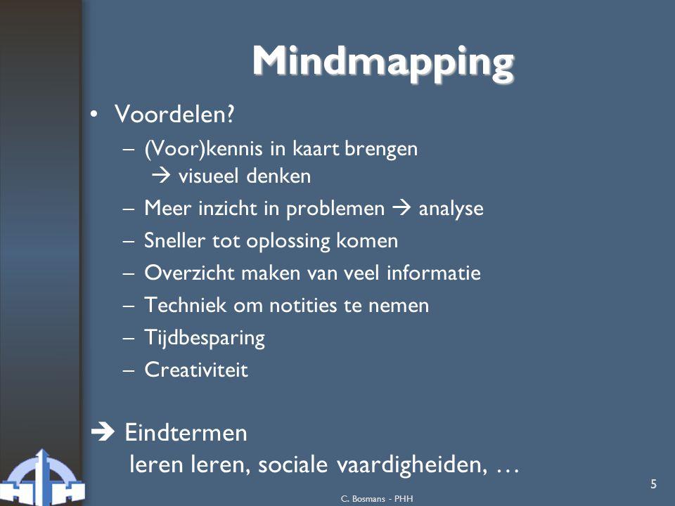 Mindmapping Voordelen