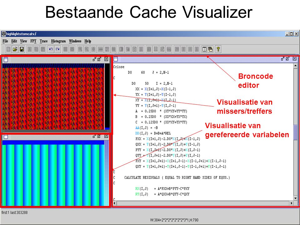 Bestaande Cache Visualizer