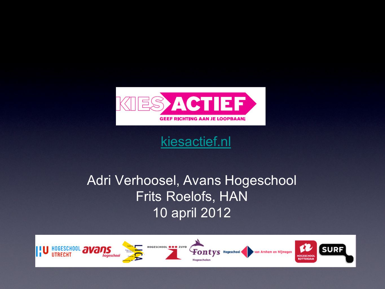Adri Verhoosel, Avans Hogeschool