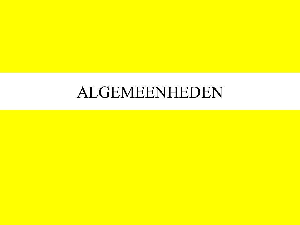 ALGEMEENHEDEN
