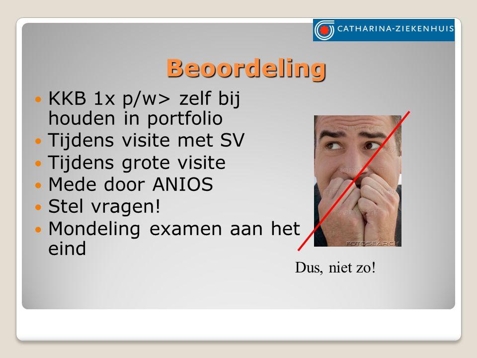 Beoordeling KKB 1x p/w> zelf bij houden in portfolio