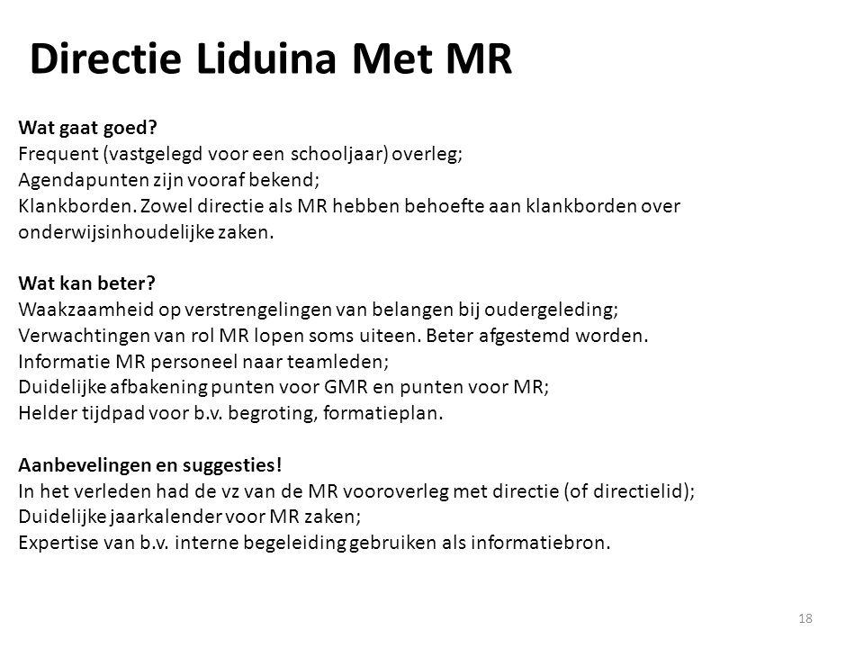 Directie Liduina Met MR