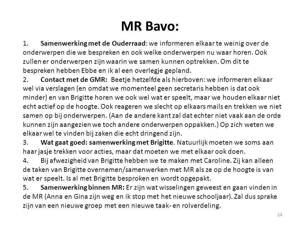 MR Bavo: