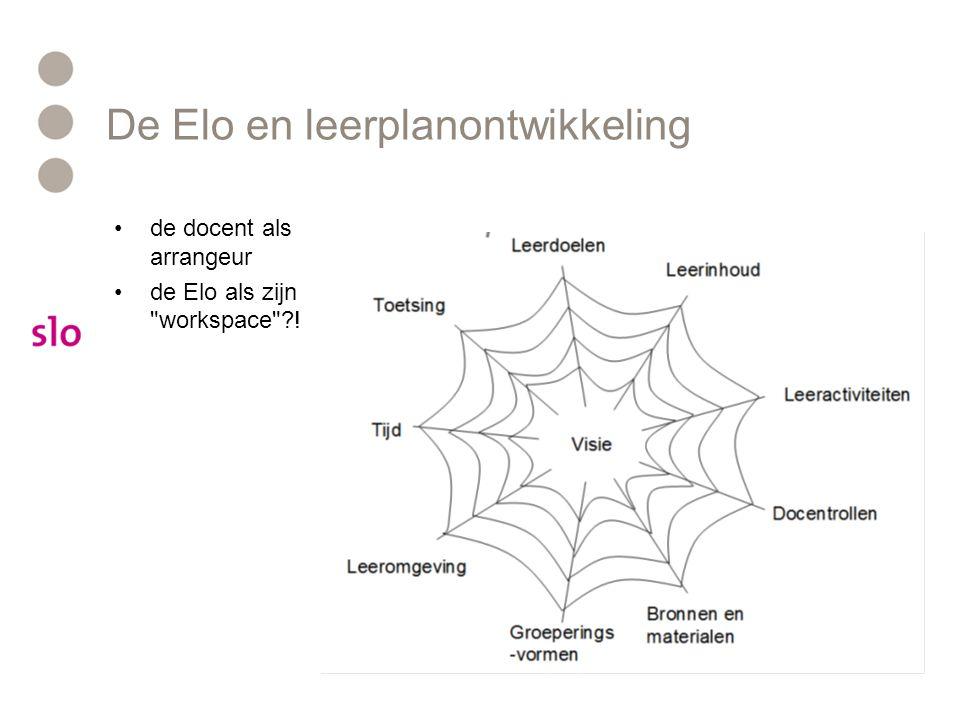 De Elo en leerplanontwikkeling