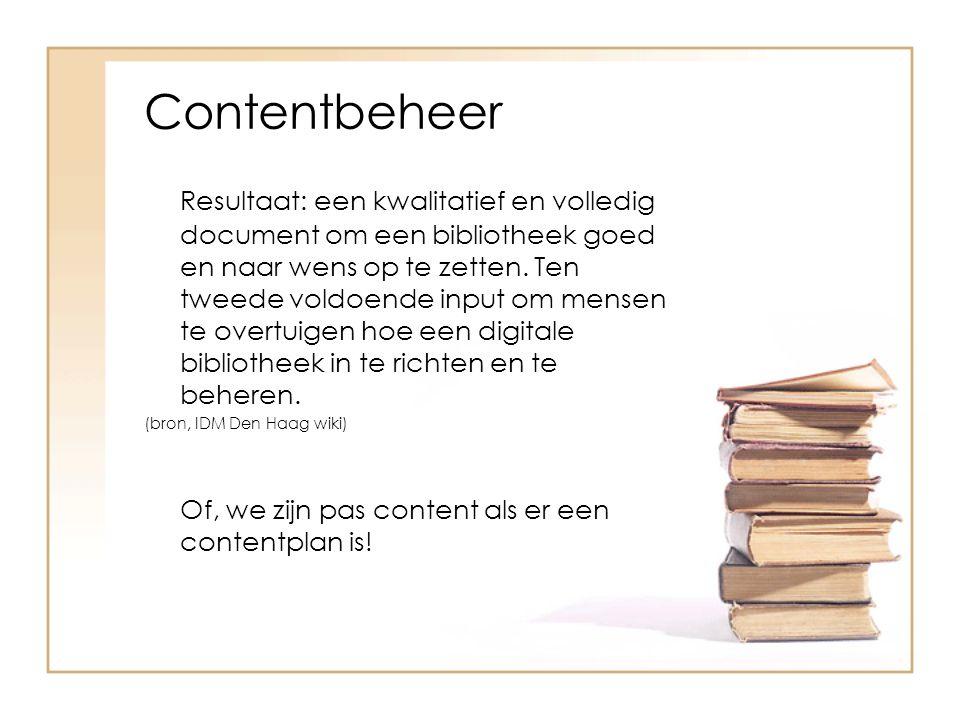 Contentbeheer