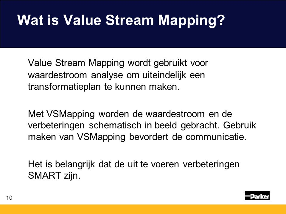 Wat is Value Stream Mapping