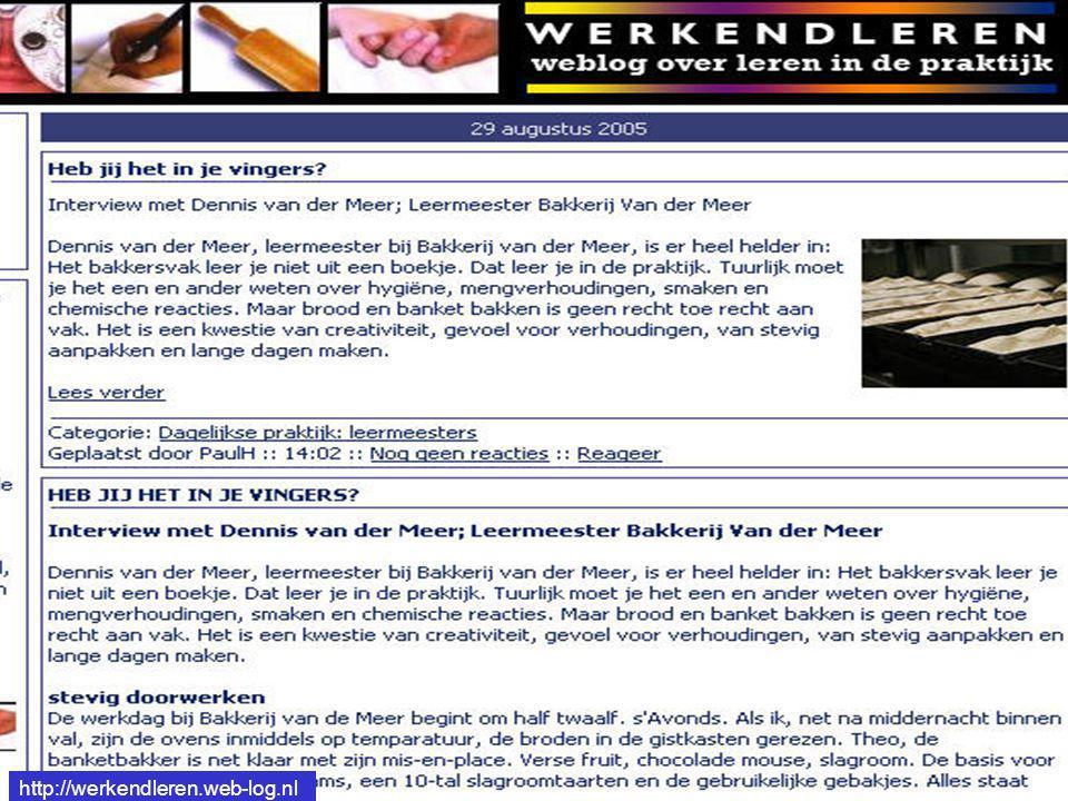 http://werkendleren.web-log.nl http://werkendleren.web-log.nl