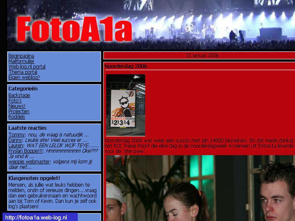 http://fotoa1a.web-log.nl Fotoweblog http://fotoa1a.web-log.nl
