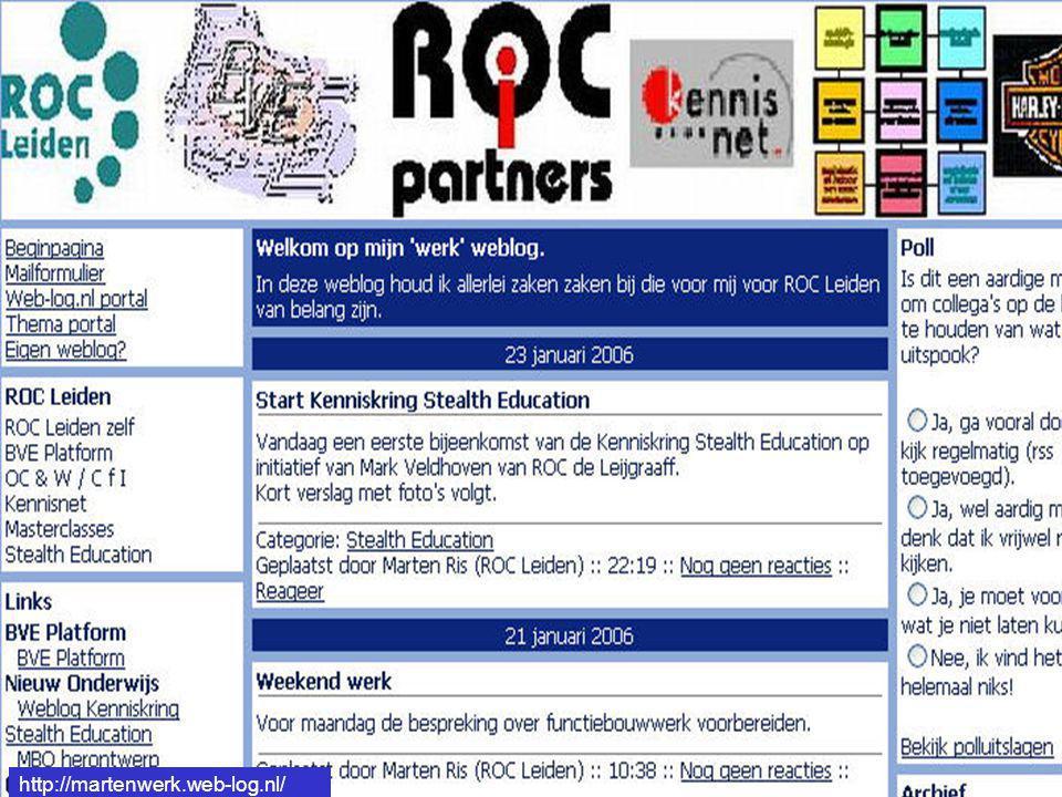 http://martenwerk.web-log.nl/ http://martenwerk.web-log.nl/
