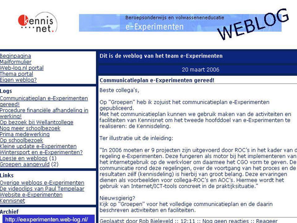 http://eexperimenten.web-log.nl/ http://eexperimenten.web-log.nl/
