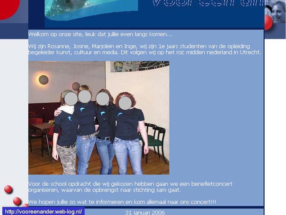 http://vooreenander.web-log.nl/ http://vooreenander.web-log.nl/