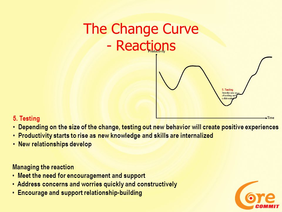 The Change Curve - Reactions