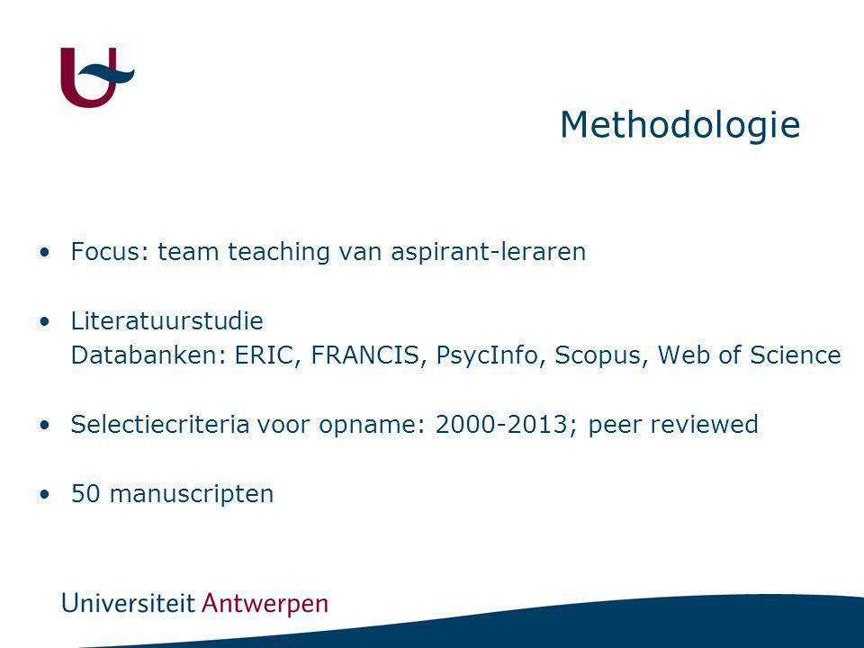 OV1 Welke modellen van team teaching kunnen we onderscheiden