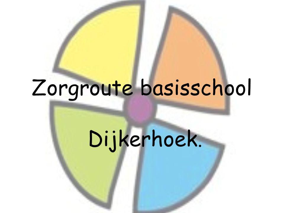 Zorgroute basisschool Dijkerhoek.