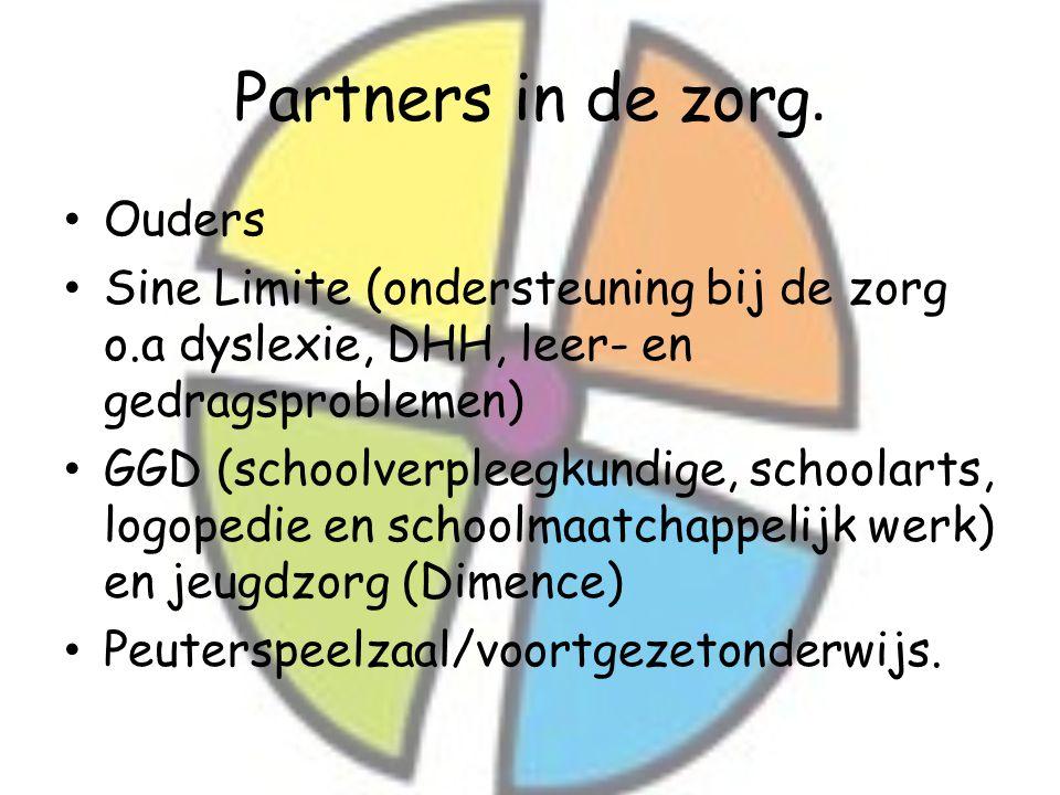 Partners in de zorg. Ouders