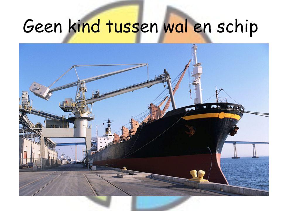 Geen kind tussen wal en schip