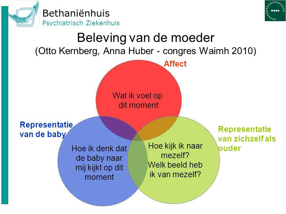 Beleving van de moeder (Otto Kernberg, Anna Huber - congres Waimh 2010)