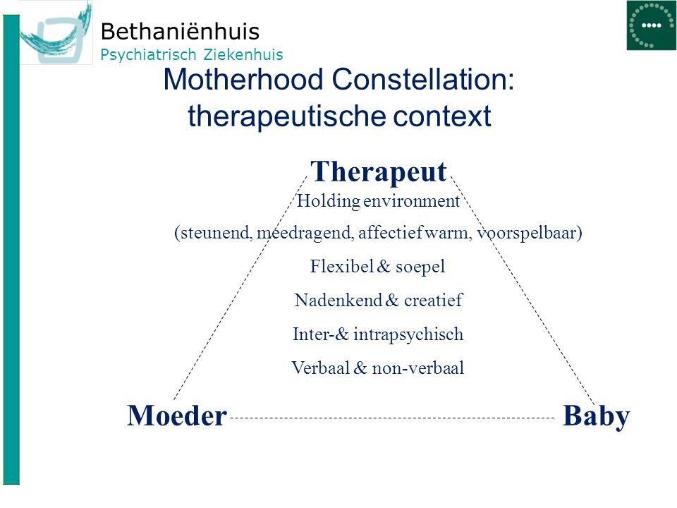 Motherhood Constellation: therapeutische context