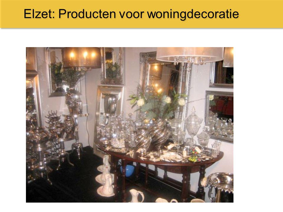 Elzet: Producten voor woningdecoratie