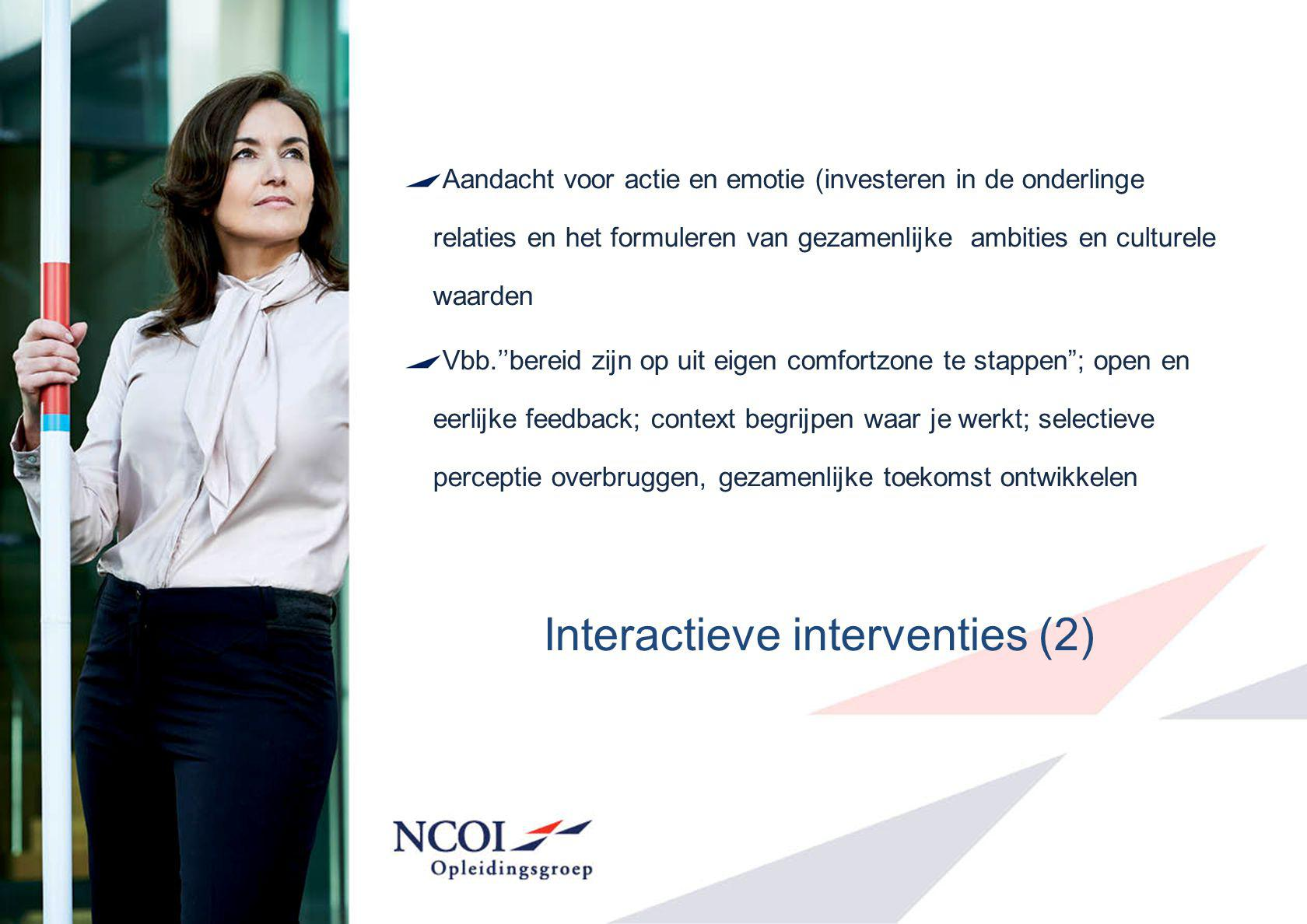 Interactieve interventies (2)