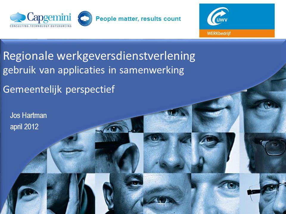 Regionale werkgeversdienstverlening gebruik van applicaties in samenwerking